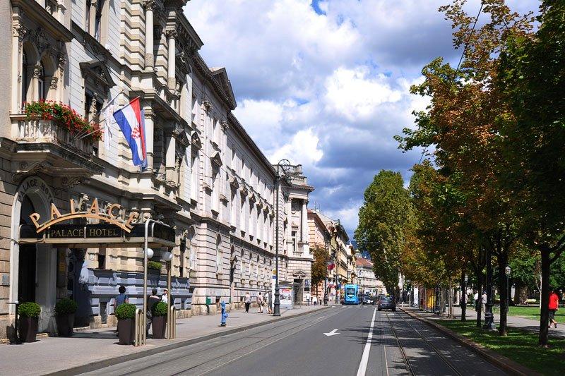 Hotel Palace Zagreb Croatia Palace Zagreb